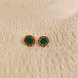 Tory Burch Gold- Plated Earrings